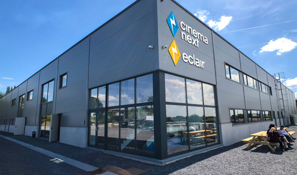 Eclair Relocates to Top-Notch Premises in Liège-Barchon
