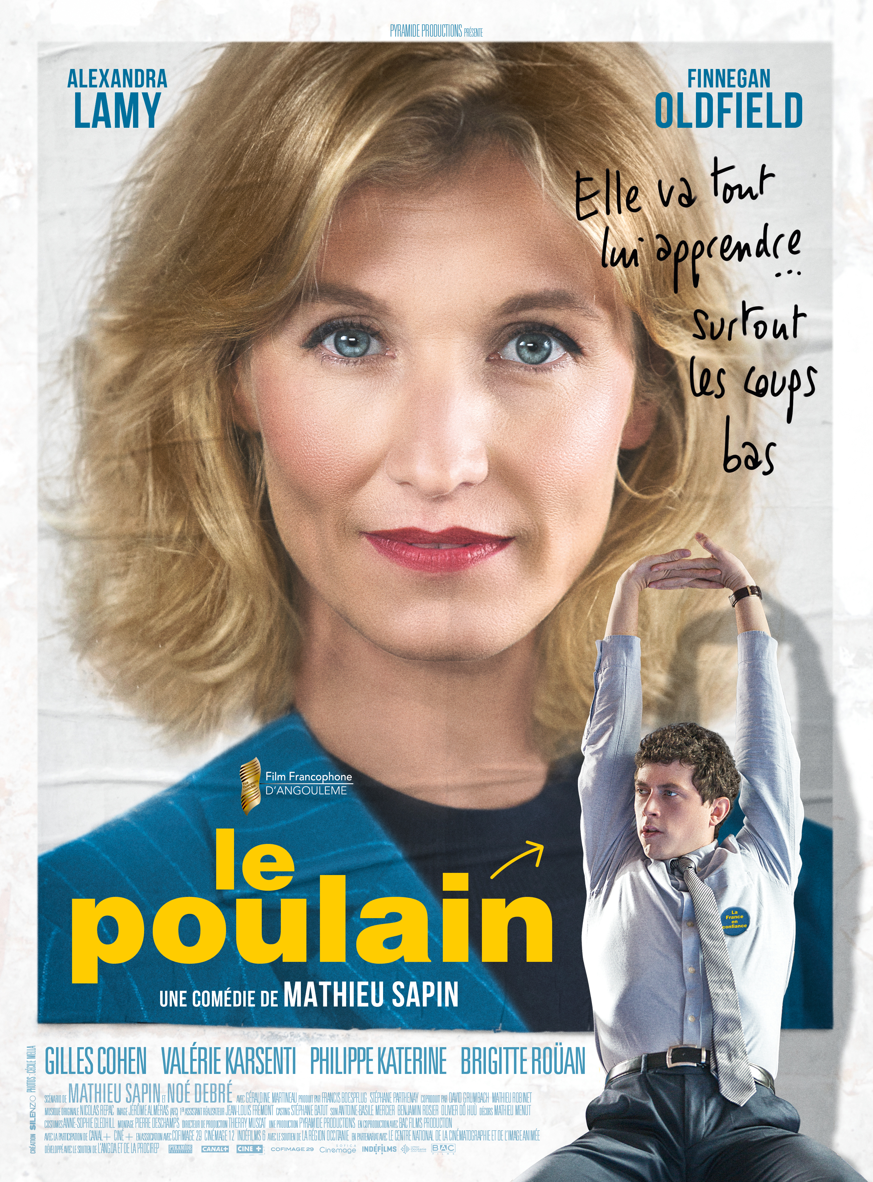 Le Poulain Eclair Cinema Post Production Alexandra Lamy