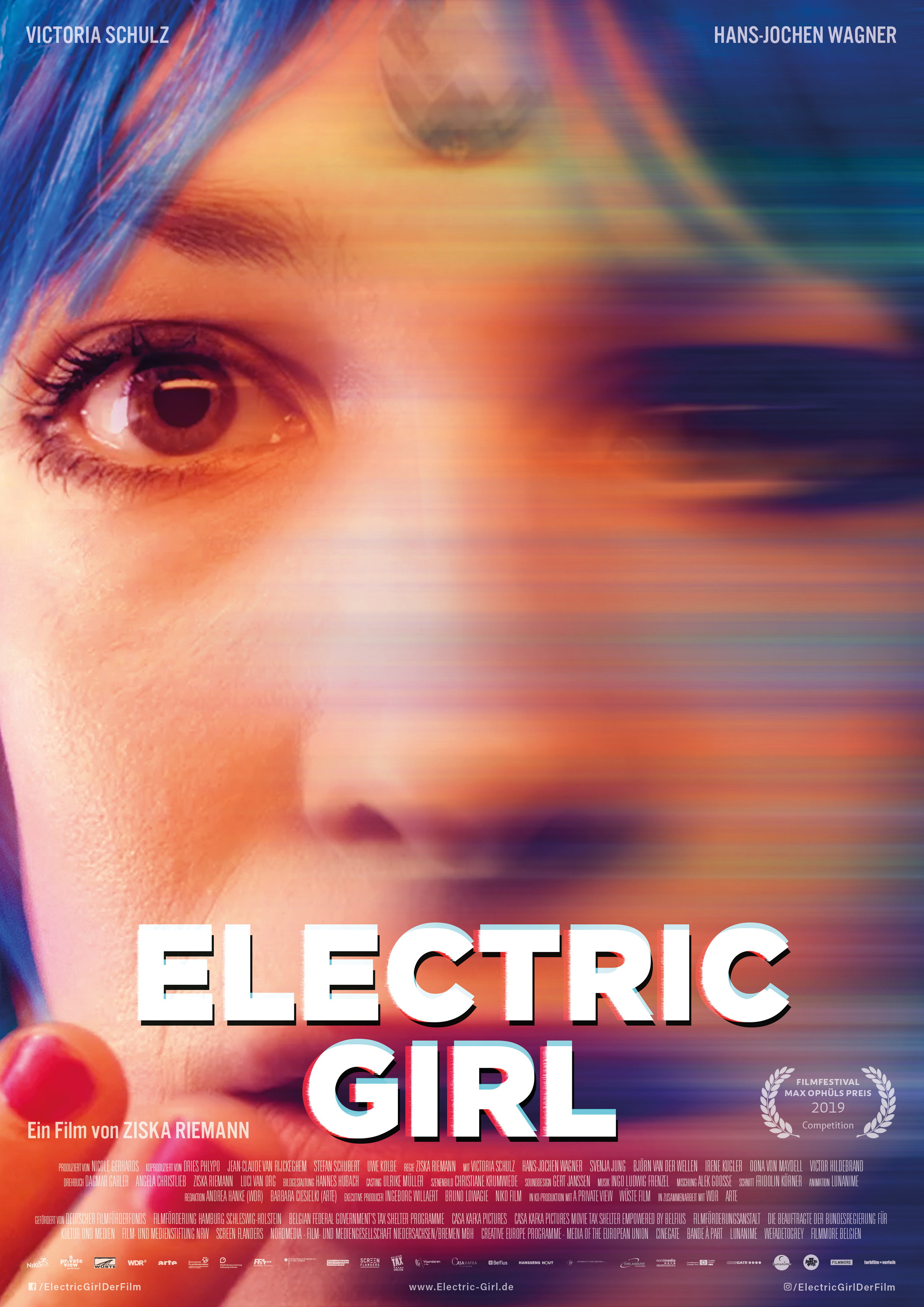 Electric Girl Poster