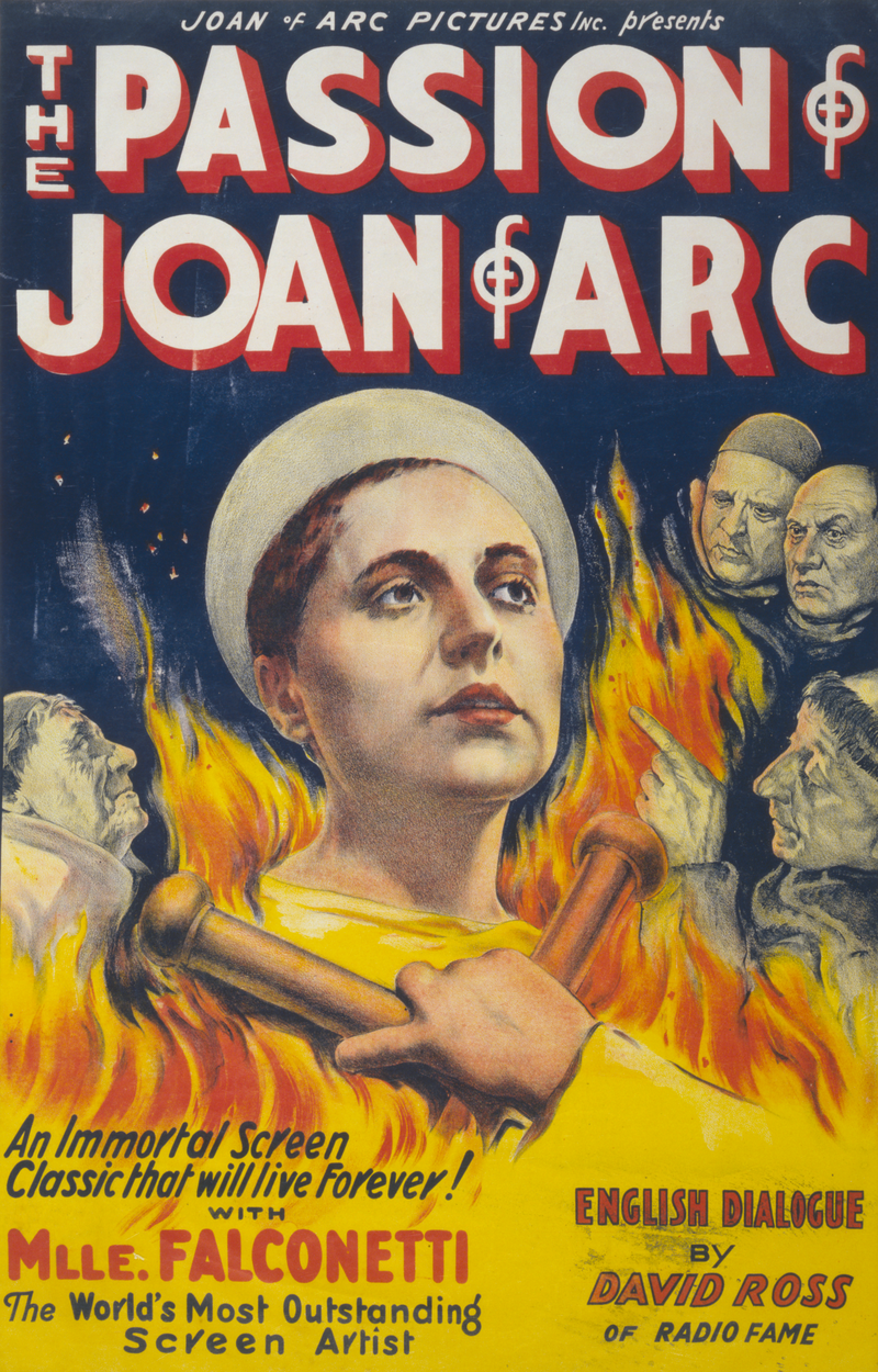 The Passion of Joan Arc Eclair Restauration