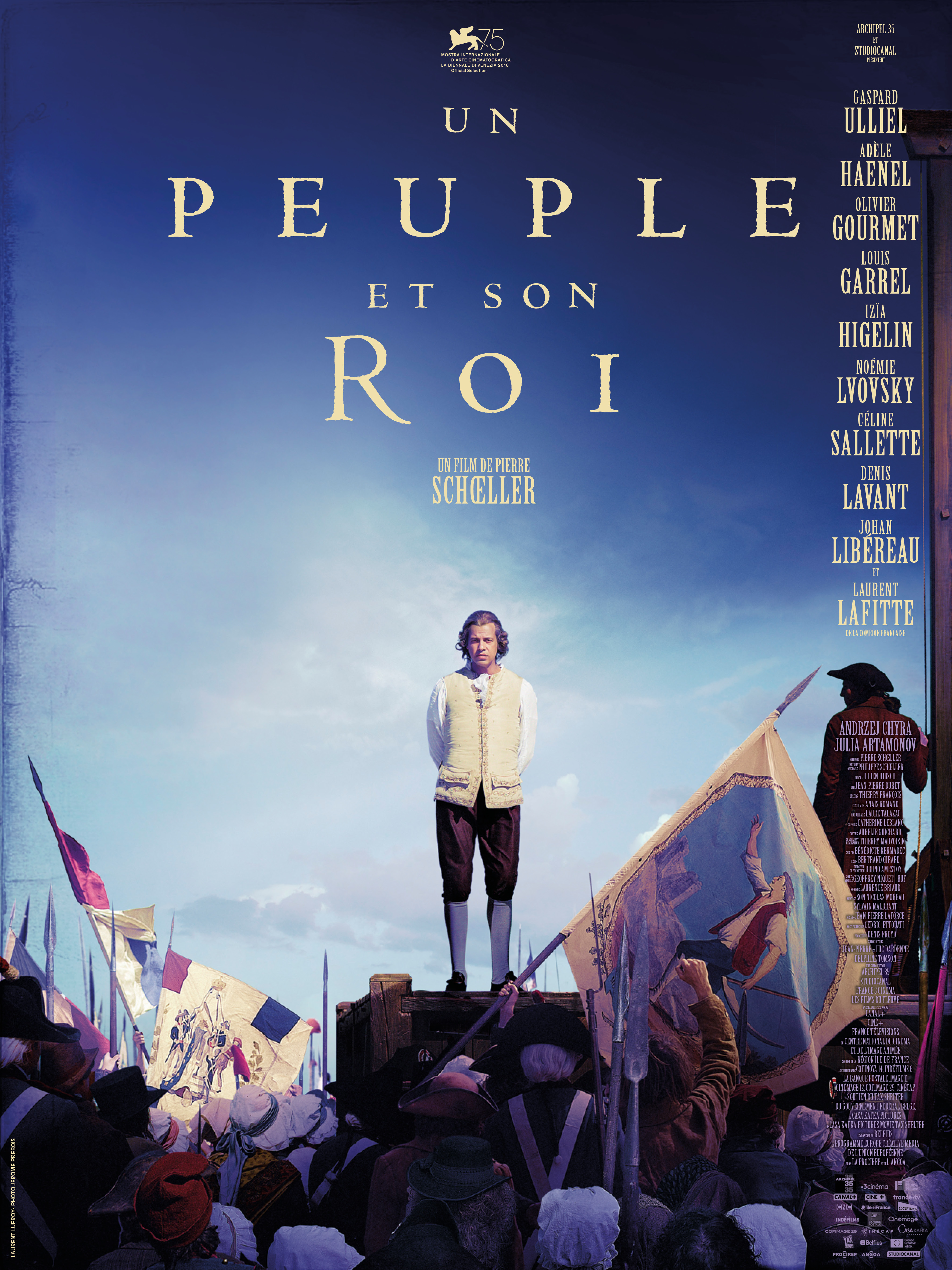Un peuple et son roi postprod eclair cinema movie poster