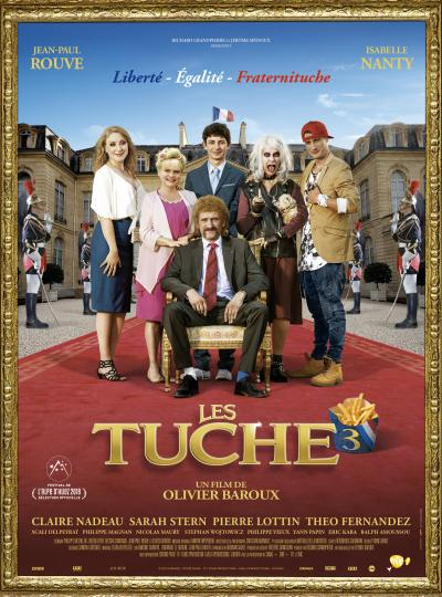 Eclair Cinema Les Tuche 3 Postproduction Paris Vanves Affiche