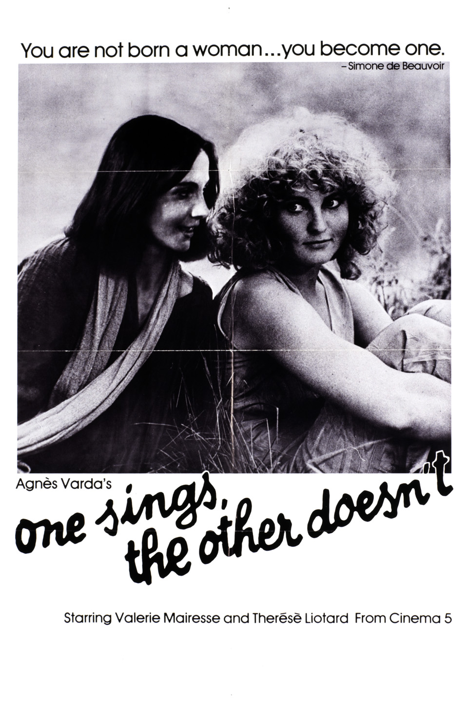 One Sings The Other Doesn't Eclair Restauration Vanves