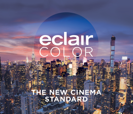 CinemaNext and Eclair to Present New Revolutionary HDR Solution EclairColor at CinemaCon 2017 in Las Vegas
