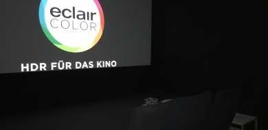 Eclair Equips Its Berlin Content Services Unit Facility with EclairColor HDR Technology