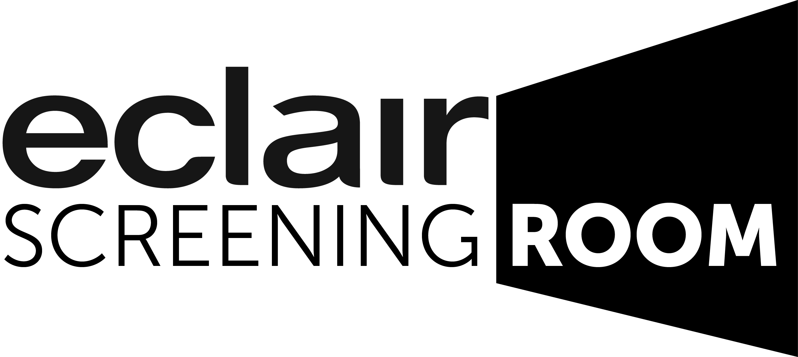 Eclair  Screening Room logo